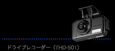 ドラレコ ドライブレコーダー(THD-501X)