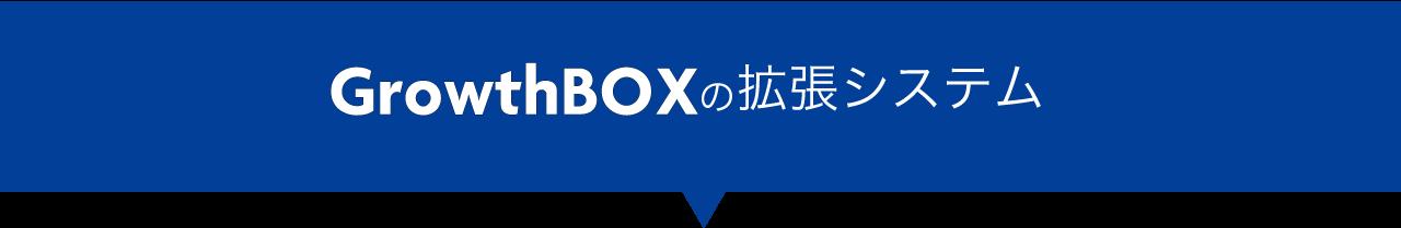 GrowthBOXの拡張システム